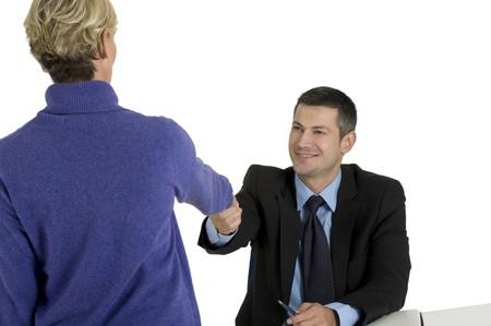 job interview Stock Photo - 8222692