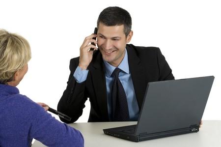 job interview Stock Photo - 8222689
