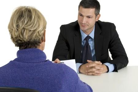 job interview Stock Photo - 8222695