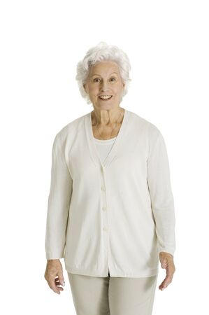 70 75 years: elderly woman smiling
