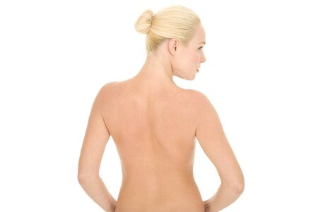 back of a nude woman Stock Photo - 8658546