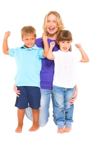 mother with children Stock Photo - 11066508