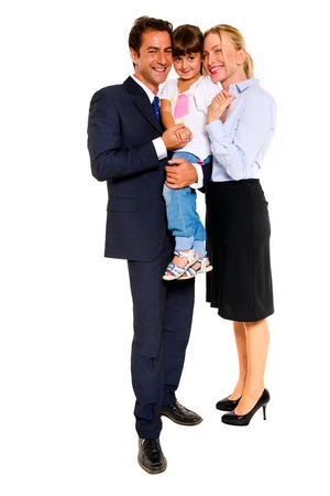 family with one child Stock Photo - 11516069
