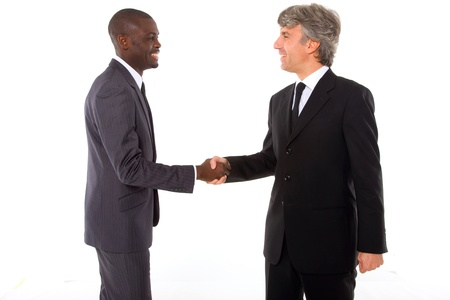 businessmen shaking hands Stock Photo - 11558759