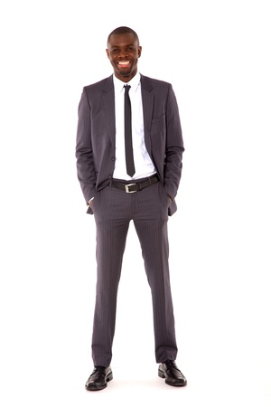 businessman with hands in pocket Stock Photo - 11556992
