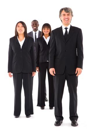 multi-ethnic team Stock Photo - 11558777