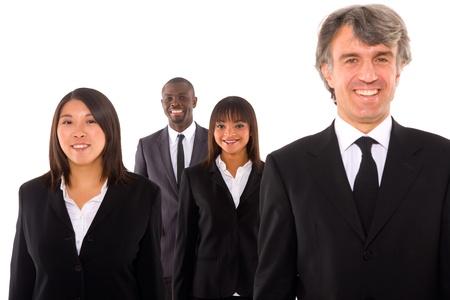 multi-ethnic team Stock Photo - 11558794
