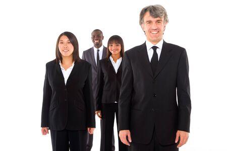 multi-ethnic team Stock Photo - 11558769