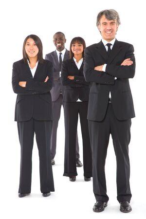 multi-ethnic team Stock Photo - 11558773