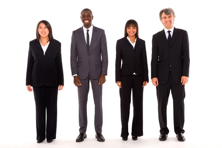 multi-ethnic team Stock Photo - 11558760