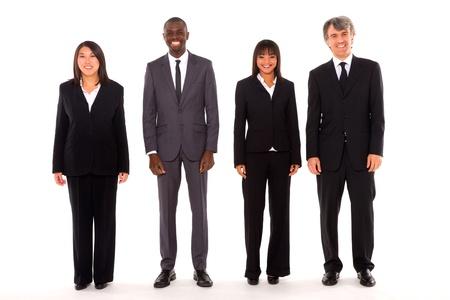 man 40 50: multi-ethnic team Stock Photo