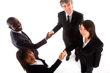 multi-ethnic team Imagens