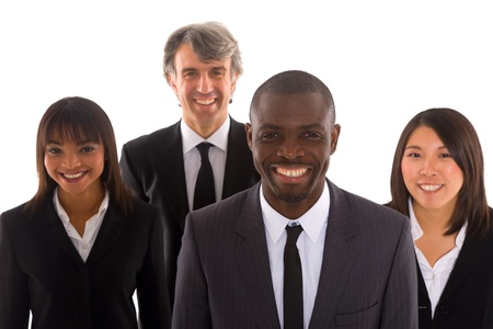multi-ethnic team Reklamní fotografie