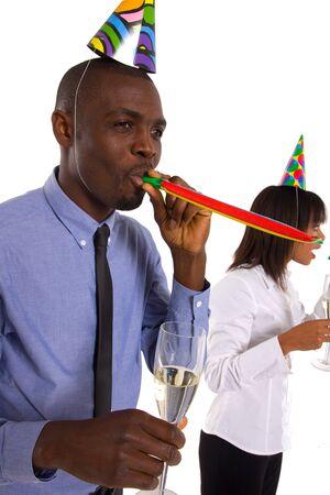 working team celebrating photo