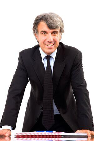 man 40 50: businessman Stock Photo