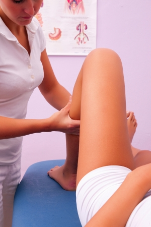 lymphatic: lymphatic drainage massage
