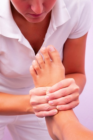 physiotherapy foot reflexology photo