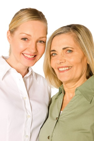 mother and doughter adult young Stock Photo - 20588170