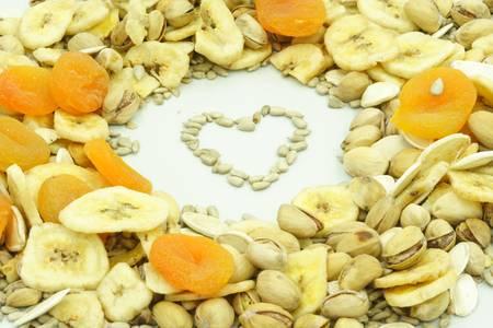apricot kernels: Fruits Stock Photo