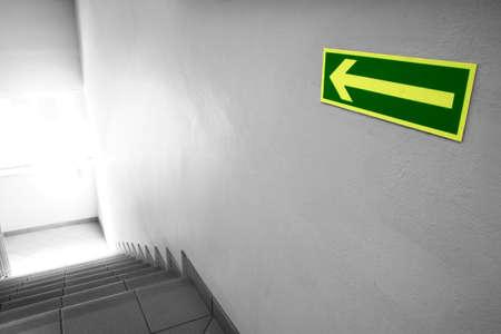 emergency exit: Emergency exit
