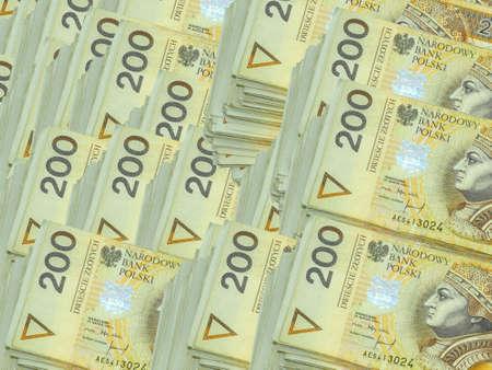 Money 200 PLN Stock Photo