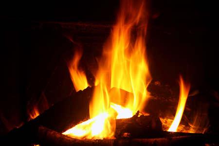Home fireplace Zdjęcie Seryjne - 6947185