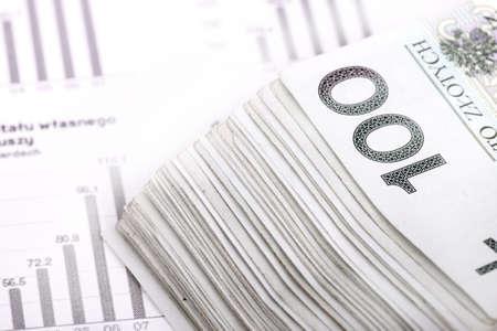 Polish currency - money PLN
