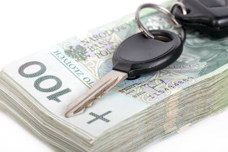 loot: Polish currency and car keys