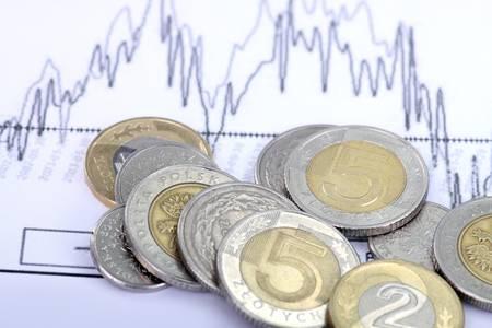 Polish currency - money