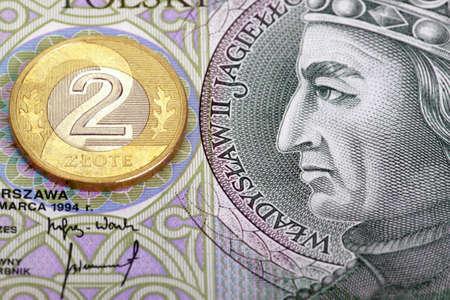 jarret: Monnaie polonaise - argent poli