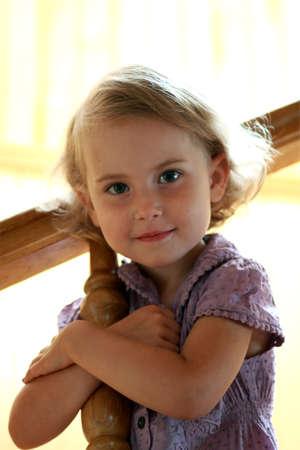 portrait of a lovely little girl Stock Photo - 10371376