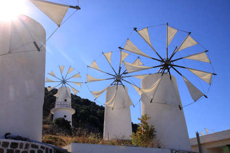 Greek Windmills - Lasithi
