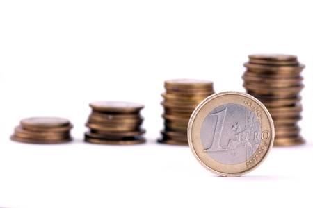 lien: Euro money graph