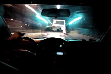 Night ride photo