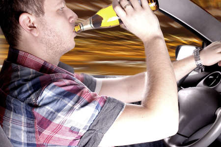 inattention: Dangerous driving drunk driver