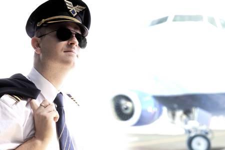 Pilot - Captain aitliners vliegtuig
