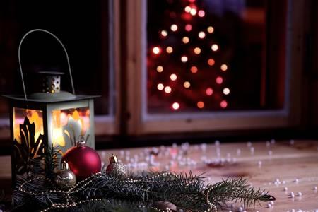 Happy Christmas wishes Фото со стока - 22077799