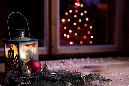 Happy Christmas wishes Stock Photo - 22077799