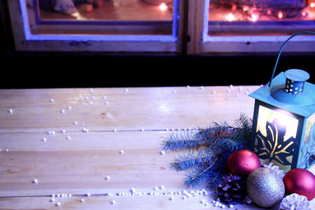 Romantic christmas atmosphere  photo