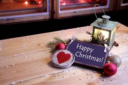 Happy Christmas greetings  Stock Photo - 22070763