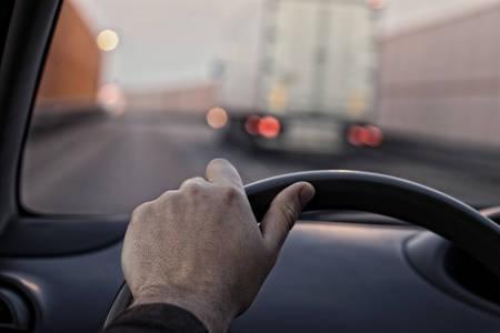 Driver s eye photo