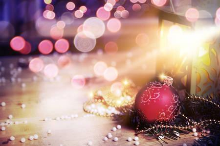 adornos navidad: Cubierta de cuento de hadas de Navidad Foto de archivo