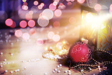 Weihnachtsmärchen Deckel Standard-Bild - 30547917