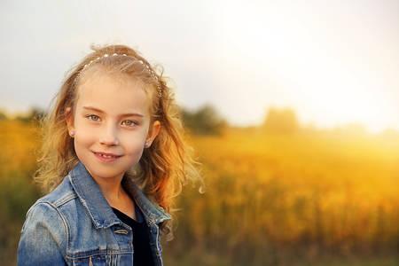 youthful: youthful - young happy girl Stock Photo