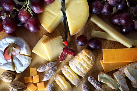 gourmet cheese board photo