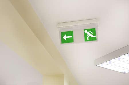evacuate: Emergency exit