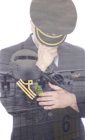epaulets: Sad pilot at the airport