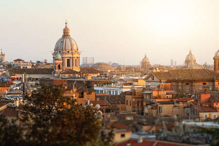heliopolis: View of Rome on a sunny afternoon