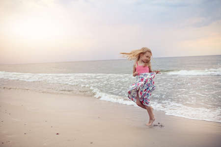 little  girls: freedom and flexibility - carefree childhood