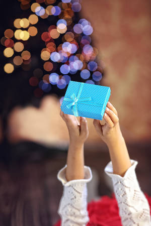 suprise: The joy of the Christmas gifts